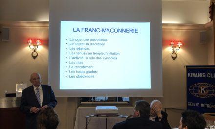 Conférence de Monsieur Etienne Dufour sur la Franc-Maçonnerie